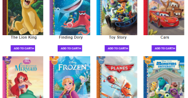 Alea's Deals Wow! 4 Disney Books for just $.99 Each Shipped! + Get a FREE Activity Book!