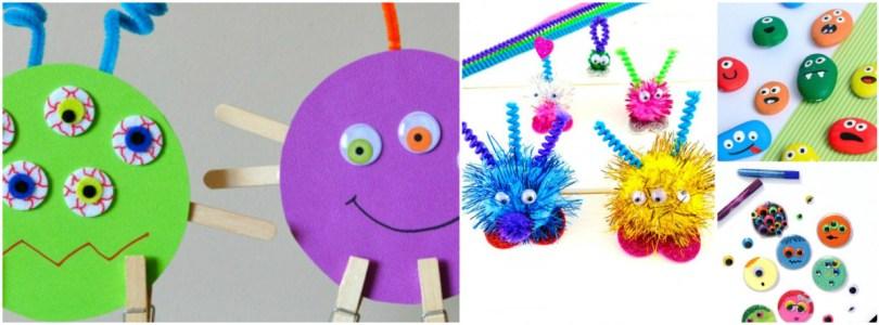 Alea's Deals 15 Monster Crafts For Kids
