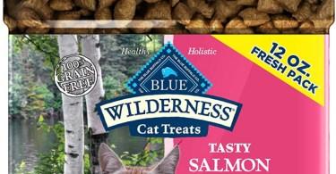 Alea's Deals Blue Buffalo Wilderness Grain Free Crunchy Cat Treats, Salmon 12-oz Tub  – 31% PRICE DROP+QPON+SUB/SAVE!