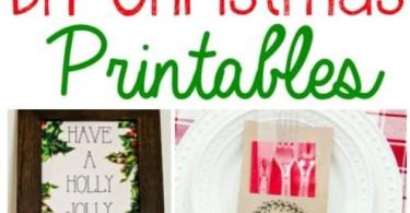 Alea's Deals 10 DIY Christmas Printables!