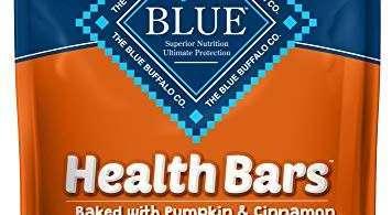 Alea's Deals 43% Off Blue Buffalo Health Bars Natural Crunchy Dog Treats Biscuits, Pumpkin & Cinnamon 16-oz bag! Was $6.99 ($0.44 / oz)!