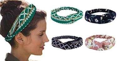 Alea's Deals 50% off Women Knitting Solid Color 8 Pcs Hair Accessories