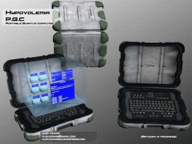 Portable Quantum Computer for Hypovolemia.