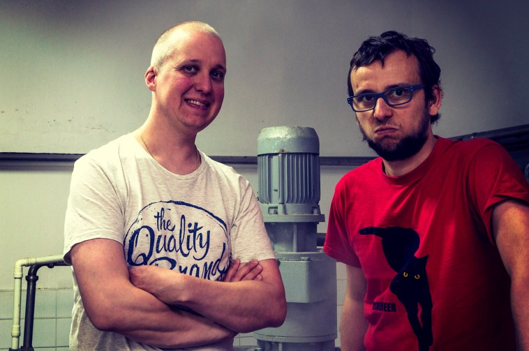 Od lewej: Jani, Robot-Morderca i Marcin