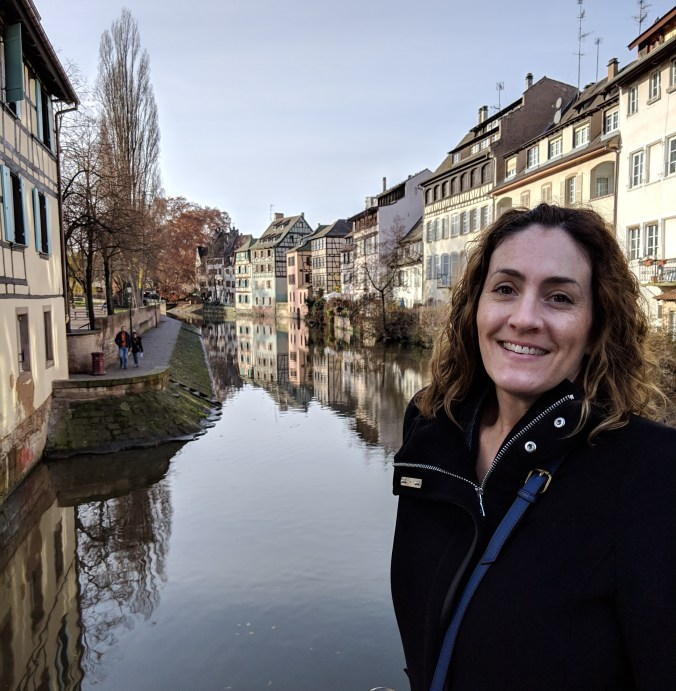 Ashley in Petite France, Strasbourg