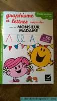 Cahier Monsieur Madame