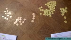 La monnaie - les centimes
