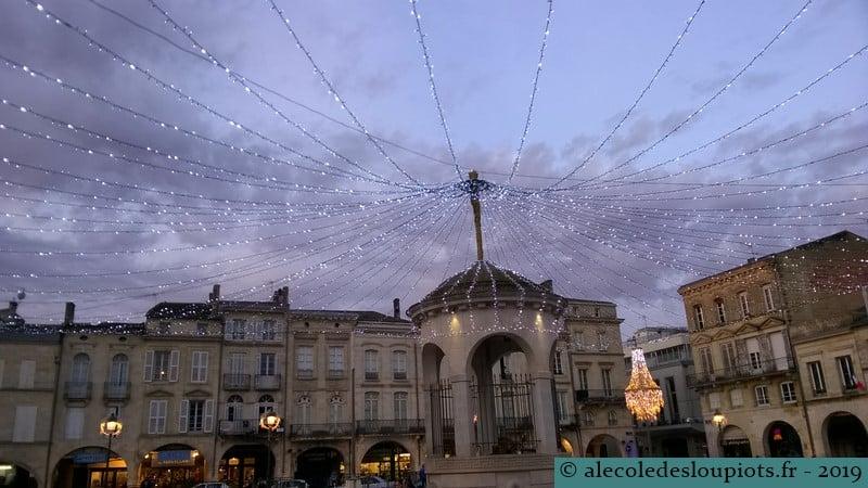 Libourne - Place Abel Surchamp