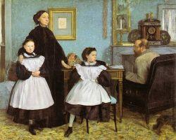 Degas-La famille Bellelli
