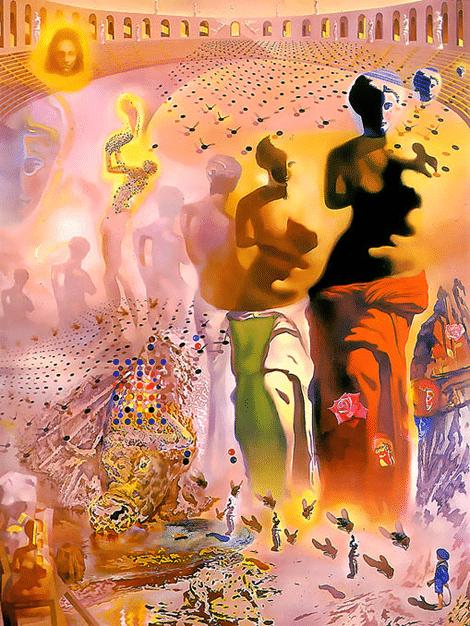 Le torero hallucinogène - Salvador Dali