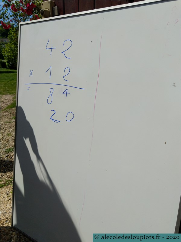 Session multiplication à 2 chiffres