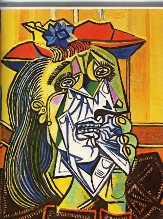 La femme qui pleure - Picasso
