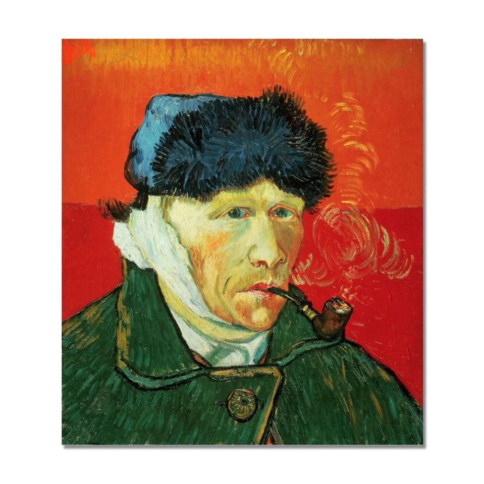 Autoportrait à l'oreille bandée - Van Gogh