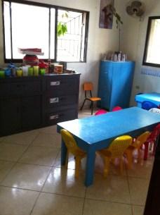 L'autre classe de maternelle à Rio San Juan