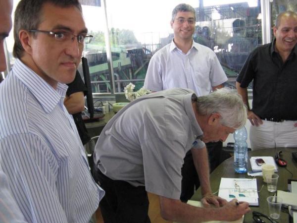 посещение мусоро-перерабатывающего завода в Израиле, ТБО