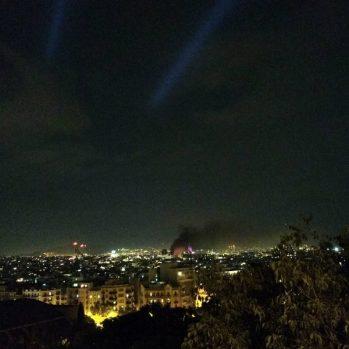 Octubre - Gracias protestas, columnas de humo, noches en vela, por recordarme elegir con cabeza y corazón