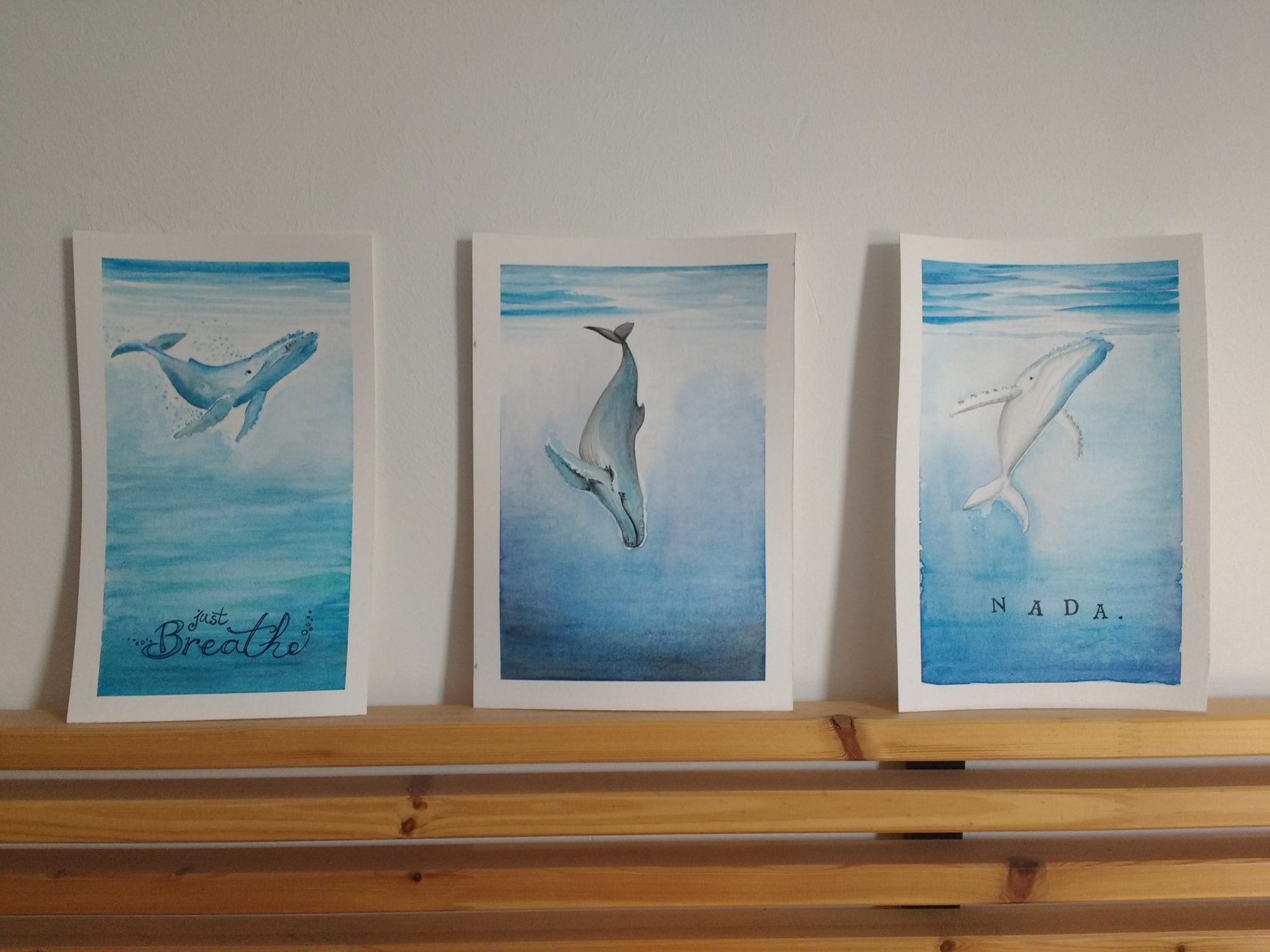 Ilustraciones Las Ballenas de Ale