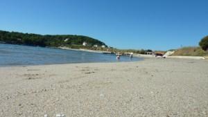 Przina beach in Lumbarda Korcula