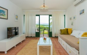Living room with sea view in Lumbarda