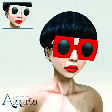 Twiggy Sunglasses Red Pack