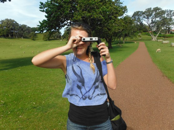Owen took this of me at Cornwall Park