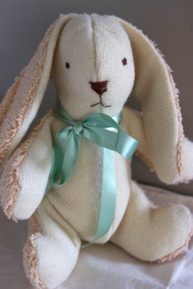 photo of a home-made bunny