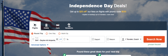 Independence Day Deals this Summer