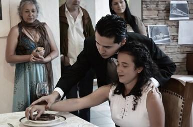 """Sandra Vicek y Alejandro Londoño """"El regalo"""""""