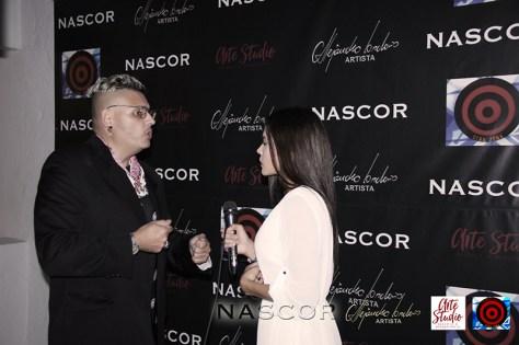 El curador de Nascor, Norman Botero entrevistado por Brigide Orrego