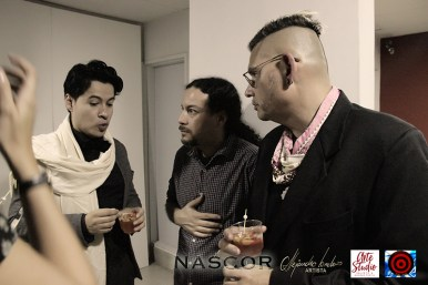 De izquierda a derecha, Alejandro Londoño, Douglas Gaviria y Norman Botero. Fotógrafo: Rubén Darío Marín