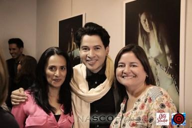 De izquierda a derecha, Marleny Castro, Alejandro Londoño y Dioselina Cortés. Fotógrafo: Rubén Darío Marín