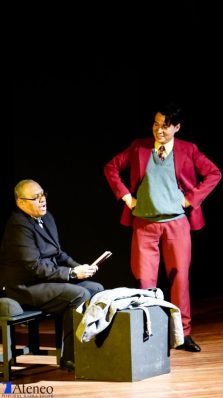 Edwin Posada y Alejandro Londoño. Foto cortesía corporación Ateneo Porfirio Barba Jacob