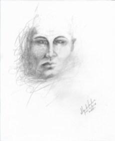 Título: Esencia 8 Serie: Esencia Técnica: Grafito Artista: Alejandro Londoño