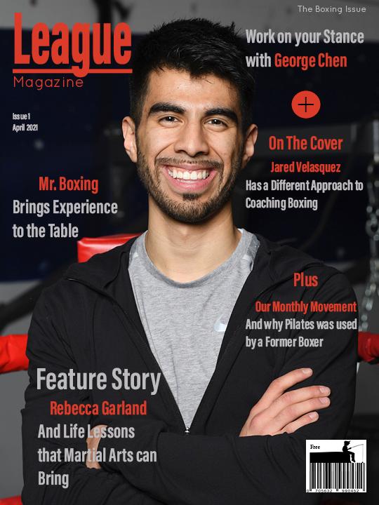 League Magazine SIngle Page