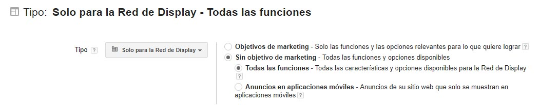 Como crear campaña gmail ads paso 2
