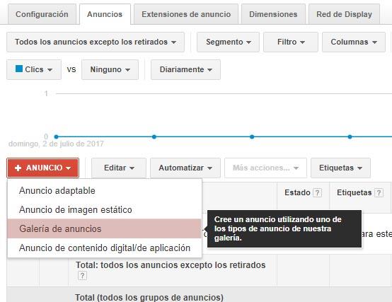 Como crear campaña gmail ads paso 4