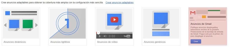 Como crear campaña gmail ads paso 5