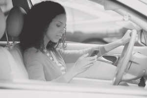 Image: Texting while driving