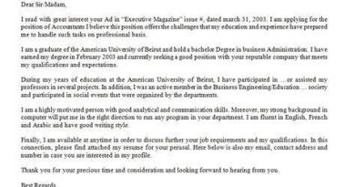 Employment - getting employed tips