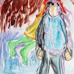 Angel-Paintingby Aleksandra Smiljkovic Vasovic aleksandraartworkcom