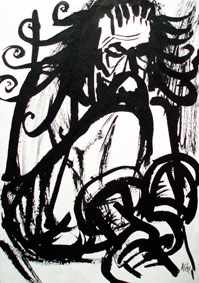 Art Professor by Aleksandra Smiljkovic Vasovic aleksandraartworkcom