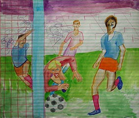 Art and Sport by Aleksandra Smiljkovic Vasovic aleksandraartworkcom