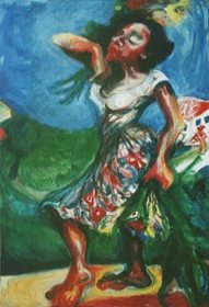 My Mother is Dancing by Aleksandra Smiljkovic Vasovic aleksandraartworkcom