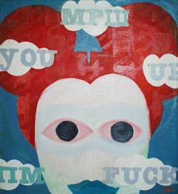 Red Mickey by Aleksandra Smiljkovic Vasovic aleksandraartworkcom
