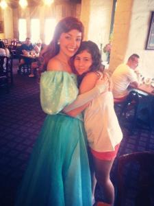 Café da manhãs com as princesas Ariel