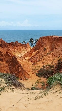 canoa quebrada, praia de morro branco e praia das fontes