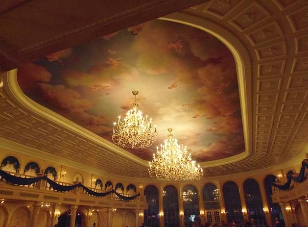Restaurantes do Magic Kingdom Castelo da Fera