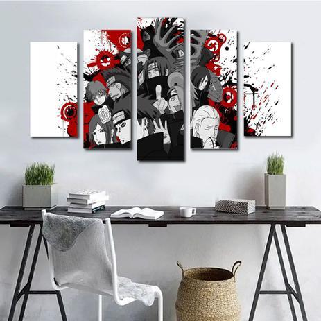 quadros decorativos naruto