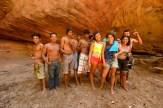 Grupo de jovens Kapinawá.