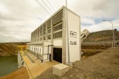 A estação de elevação em Cabrobó